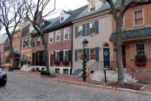 Society Hill Philadelphia Historic City
