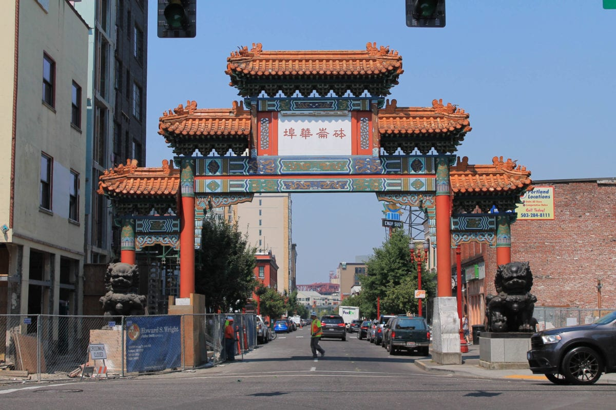 Portland Oregon Chinatown