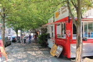 Portland Oregon Alder Food cart pod