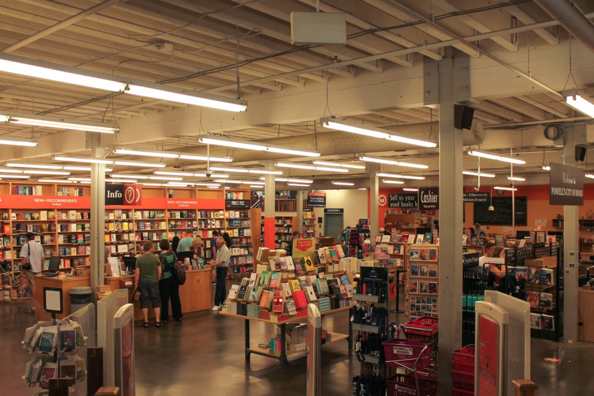 Portland Oregon Powells books